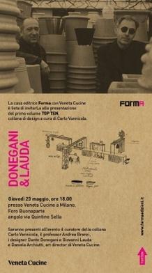 Veneta Cucine presented the book by Donegani & Lauda