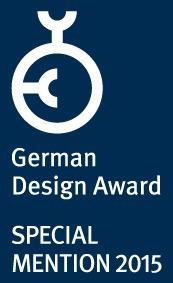 Liquida Frame receives special mention at the 2015 German Design Award