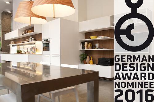 Veneta Cucine nominated for the German Design Award 2016