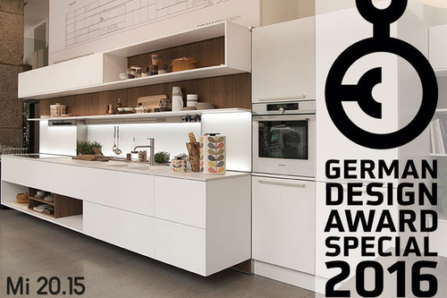 Mi 20.15, designed by Studio Giovannoni, receives special mention at the 2016 German Design Award