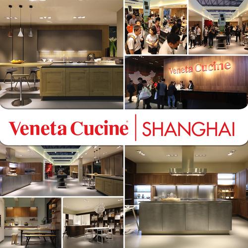 VENETA CUCINE'S WIDESPREAD EXCELLENCE IN SHANGHAI
